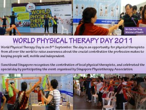 SPA world physio day 2011