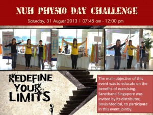 nuh physio day challenge 2013