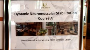 1 Dynamic Neuromuscular Stabilization Course A Workshop 1 - Enhance Physiotherapy
