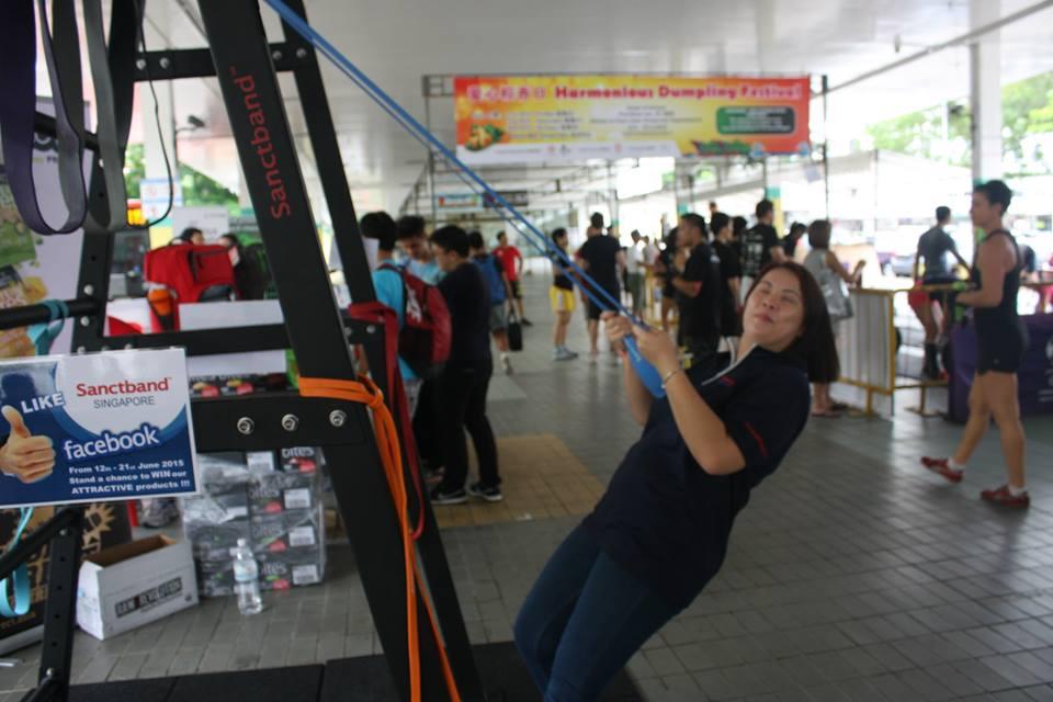 Singapore absolute fitness throwdown