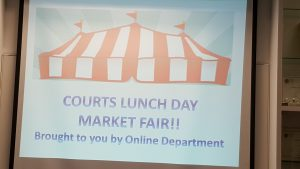 1Courts - Market Fair in Conjunction with Lunch Day