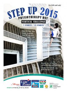SGH Singapore General Hospital SGH Step Up 2015